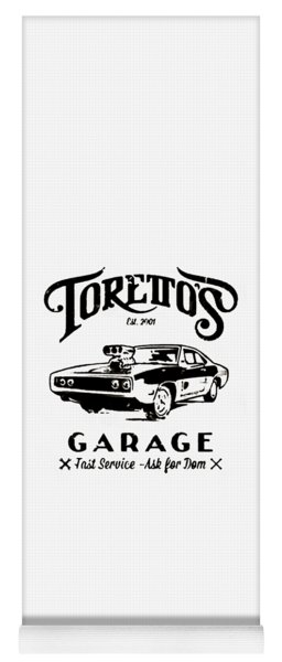 Toretto's Garage Yoga Mat