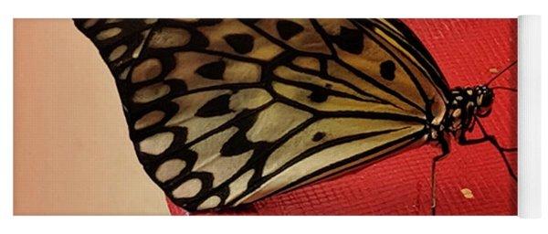 Torn Butterfly Yoga Mat