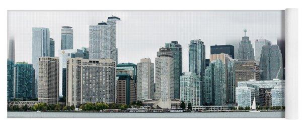 Toronto's Skylines Yoga Mat