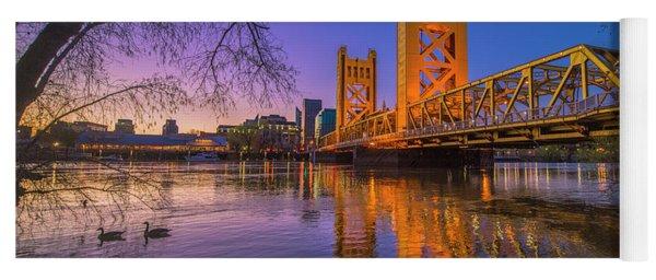 Tower Bridge At Sunrise - 4 Yoga Mat