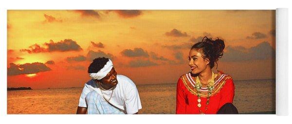 Traditional Dress,maldives Yoga Mat