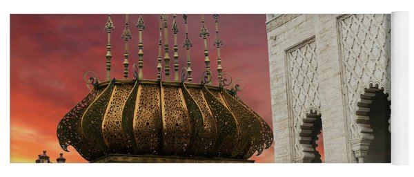 Traditional Outdoor Lighting Urn, Mausoleum Yoga Mat