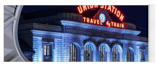 Travel By Train - Denver Union Station #2 Yoga Mat