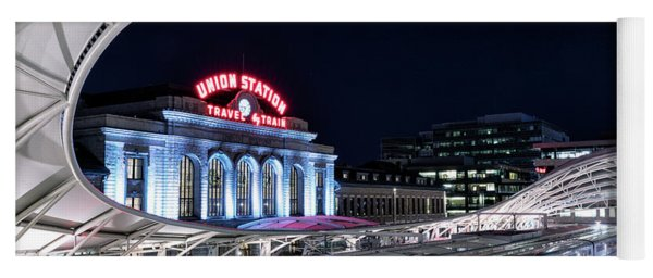 Travel By Train - Union Station Denver #2 Yoga Mat