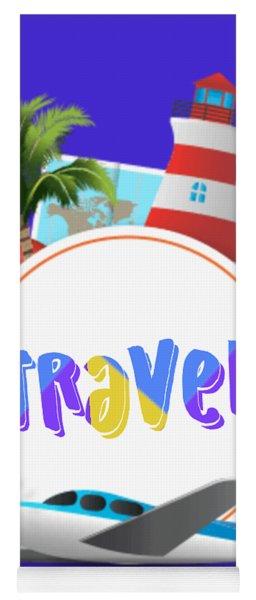 Travel World Yoga Mat