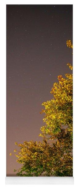 Tree And Stars Yoga Mat