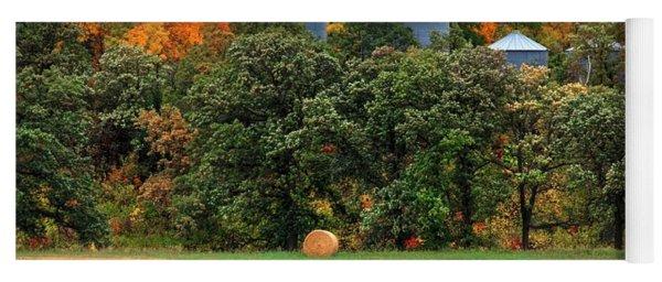 Tree Colours Yoga Mat