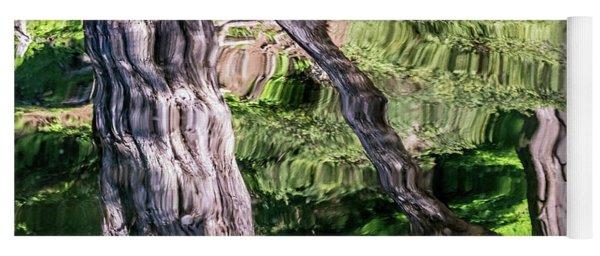 Tree Reflected Yoga Mat