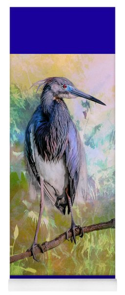 Tricolored Heron Yoga Mat