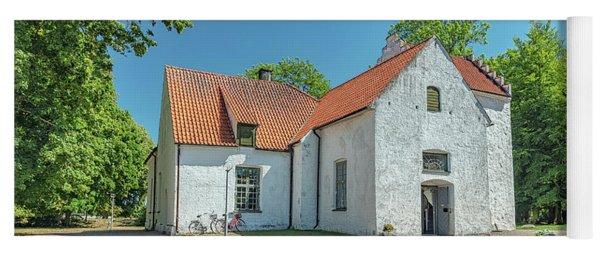 Trolle Ljungby White Church Yoga Mat