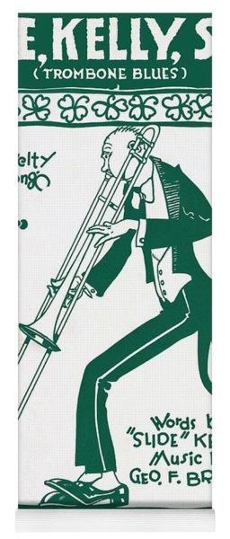 Trombone Blues 1920 Yoga Mat