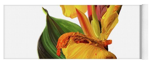 Tropical Bouquet-flower One Yoga Mat