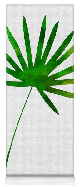 Tropical Chamaerops Leaf I Yoga Mat
