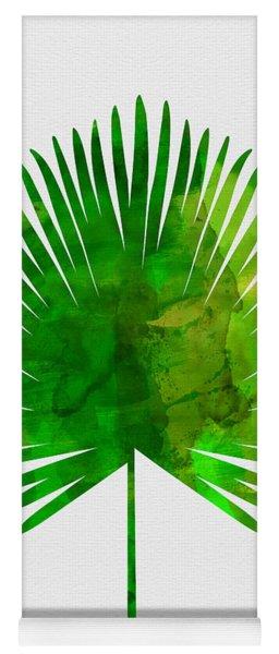 Tropical Chamaerops Leaf Yoga Mat
