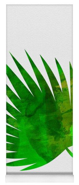 Tropical Chamaerops Yoga Mat