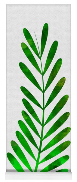 Tropical Leaf II Yoga Mat