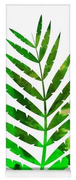 Tropical Leaf Yoga Mat