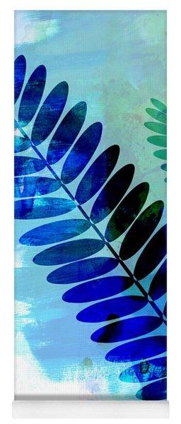 Tropical Leaf Watercolor 3 Yoga Mat