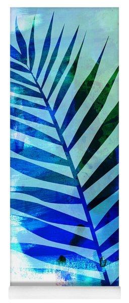 Tropical Leaf Watercolor I Yoga Mat