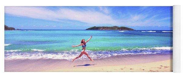 Tropical Spring Yoga Mat