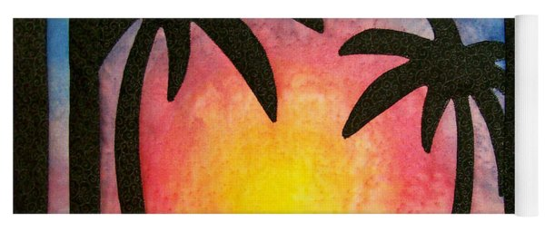 Tropical Sunset Yoga Mat