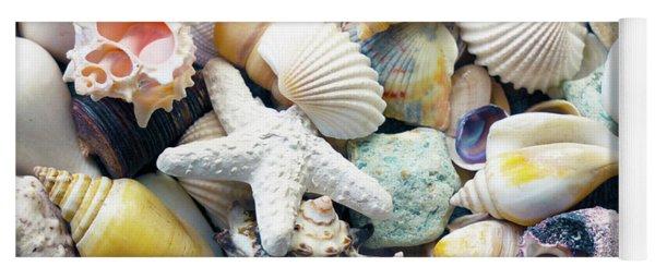 Tropical Treasure Seashells B91218 Yoga Mat
