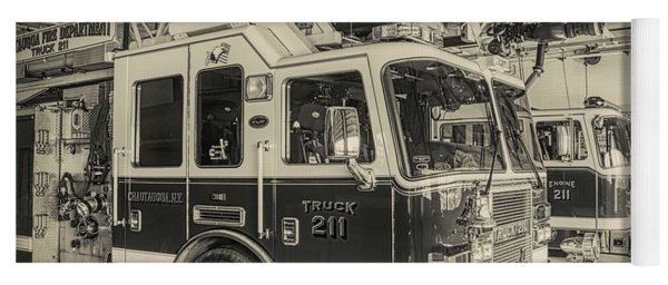 Truck And Engine 211 Yoga Mat