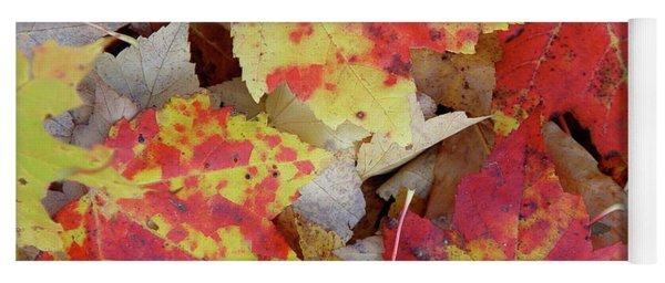 True Autumn Colors Yoga Mat