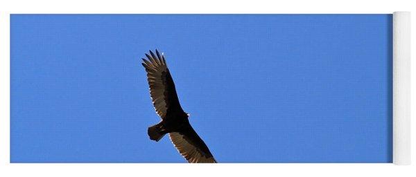 Turkey Vulture Soaring Yoga Mat
