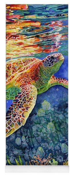 Turtle Reflections Yoga Mat