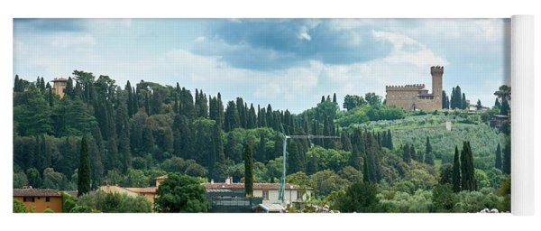 Tuscan Landscape In Florence Yoga Mat