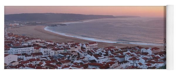 Twilight At Nazare Village Yoga Mat