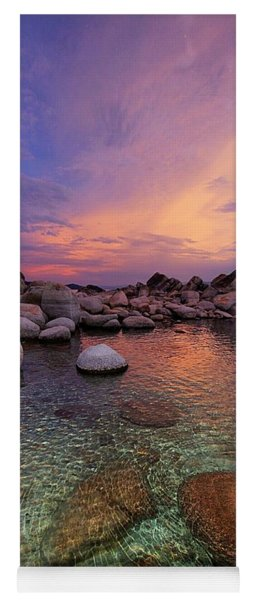 Twilight Canvas  Yoga Mat