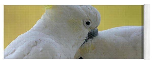 Two Cockatoos Yoga Mat
