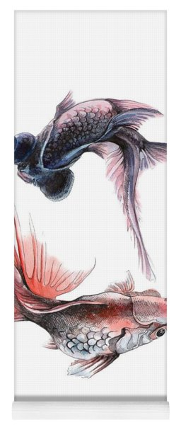 Two Fishes Yoga Mat