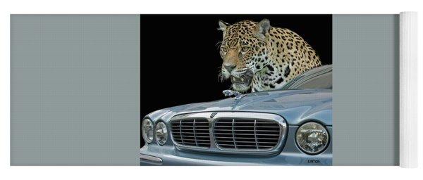 Two Jaguars 2 Yoga Mat