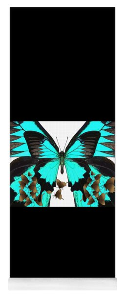 U Is For Ulysses Butterfly Yoga Mat