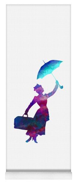 Umbrella Lady Yoga Mat