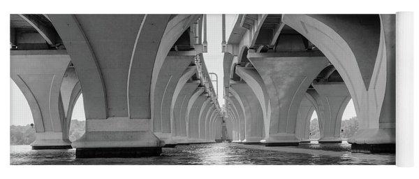 Under The Woodrow Wilson Bridge Yoga Mat