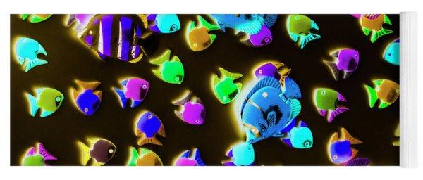 Underwater Glow Yoga Mat