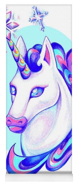 Unicorn Winter Yoga Mat