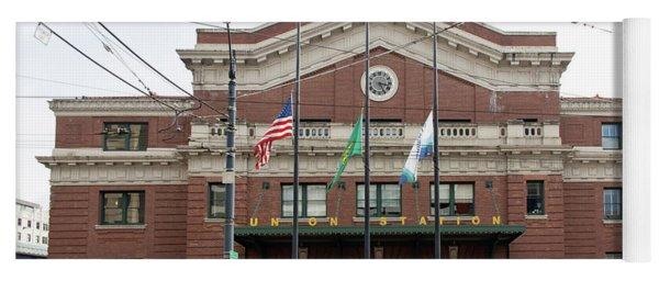 Union Station Seattle Washington R1480 Yoga Mat