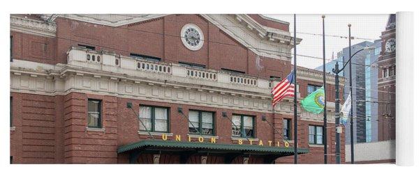 Union Station Seattle Washington R1482 Yoga Mat