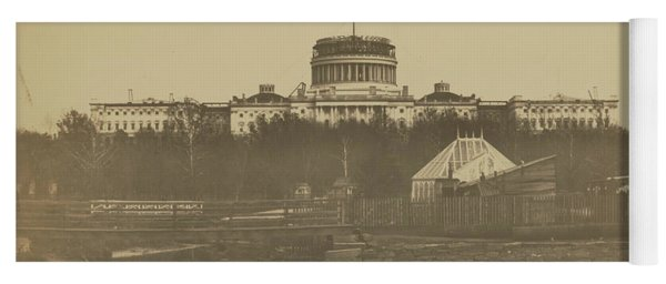 United States Capitol Under Construction Yoga Mat