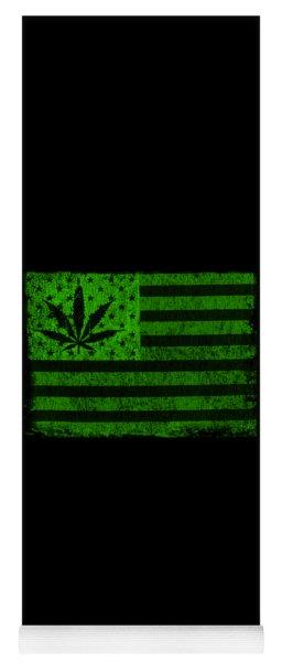 United States Of Cannabis Yoga Mat