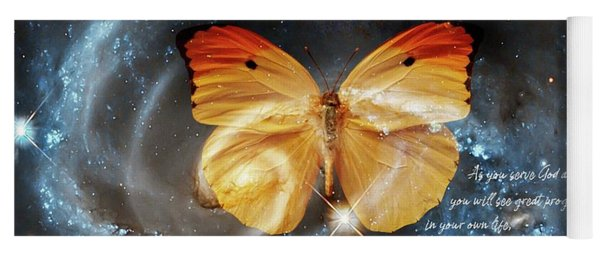 Universal Butterfly Yoga Mat