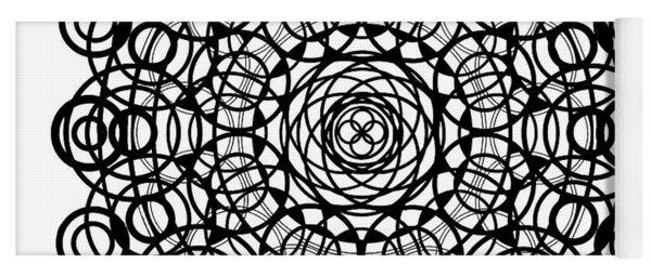 Untitled  Mandala Yoga Mat