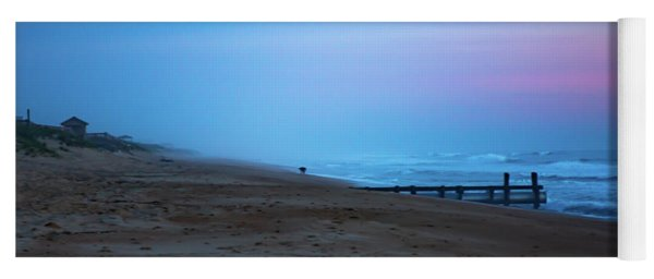 Yoga Mat featuring the photograph Up Before Sunrise by Lora J Wilson