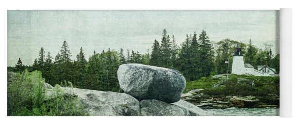 Yoga Mat featuring the photograph Upon This Rock by Mike Braun