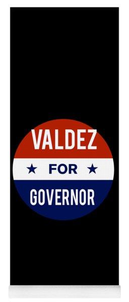 Valdez For Governor 2018 Yoga Mat